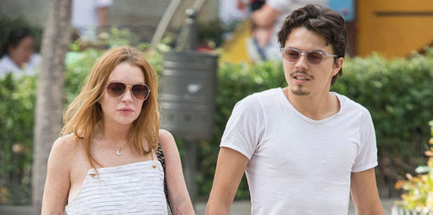 Lindsay Lohan and Egor Tarabasov. Photo / Getty Images