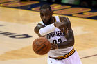 LeBron James of the Cleveland Cavaliers passes the ball. Photo / Getty Images