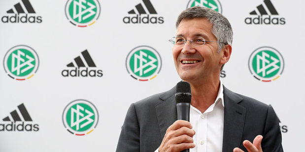 Adidas chief executive Herbert Hainer. Photo / Getty Images