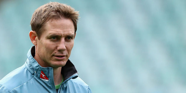 Stephen Larkham was among the Wallabies personnel that visited the Frank Baxter juvenile justice centre. Photo / Getty Images
