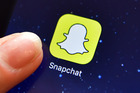 Snapchat users were unimpressed with the filter. Photo / Getty Images