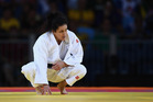 New Zealand's Darcina Manuel won her opening fight in the Women's -57 kg Olympic Judo event. Photo / Getty Images
