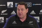 All Blacks coach Steve Hansen held a media conference in Auckland today where he commented on Sonny Bill Williams' injury, the New Zealand sevens loss and the news that Colin Meads has cancer.