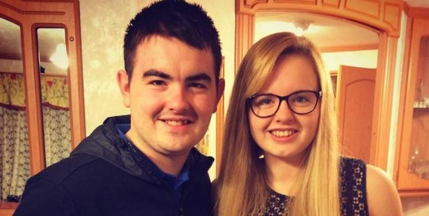 Hope Gordon, pictured with her brother, Sean, was refused amputation by the NHS, so she raised funds to have it done privately. Photo / Facebook, Hope Gordon