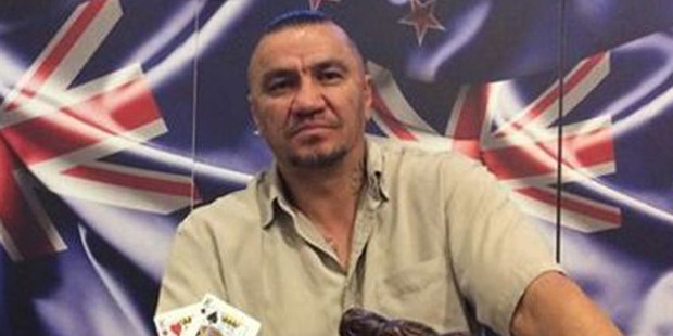 2015 New Zealand poker champion Jay Gilbert.