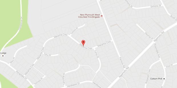 Police say they were called to Marama Crescent in New Plymouth at 5pm following reports that a number of shots had been fired.