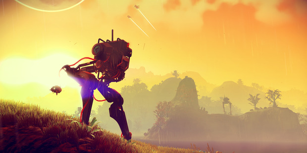 No Man's Sky offers players an infinitely expanding world to explore.