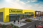 An artist's impression of the new Pak'nSave store in Tauriko (Tauranga).