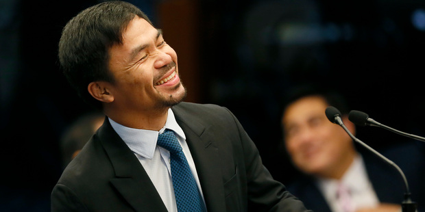 Manny Pacquiao will come out of retirement for a fight in November. Photo / AP