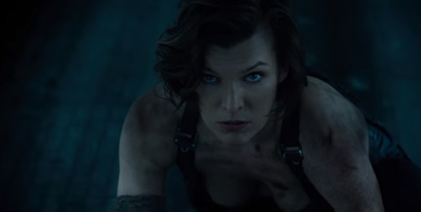 A scene from Resident Evil: The Final Chapter, starring Milla Jovovich.