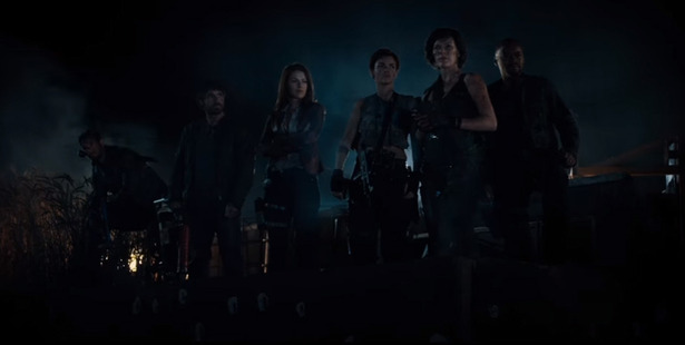A scene from Resident Evil: The Final Chapter, the last in the franchise.