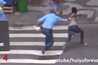 Theft is rampant on the streets of Rio de Janeiro. One tourist filmed 27 robberies in one day - here's an edited view