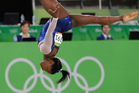 United States' Simone Biles performs on the floor during the artistic gymnastics women's individual all-around final at the 2016 Summer Olympics. Photo / AP