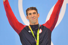 Michael Phelps after winning the 200m butterfly event at the Rio Olympics. Photo / Photosport