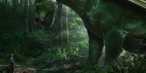 A scene from the movie, Pete's Dragon.