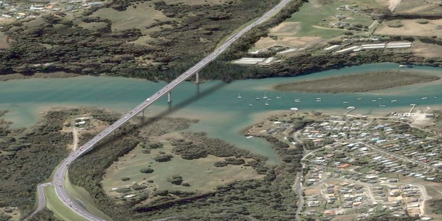 Loading Penlink development which will provide another route in and out of the Whangaparaoa Peninsula. Photo / Supplied