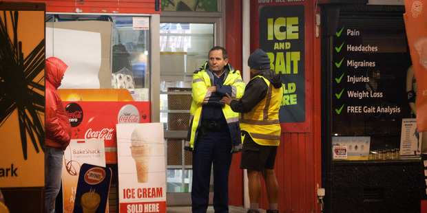 An aggravated robbery of Busy Bee Dairy occured on Maunganui Road last night. Photo/Andrew Warner