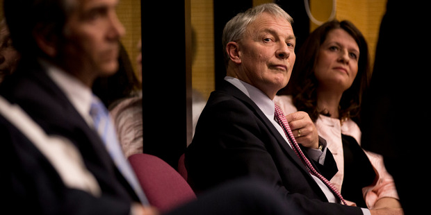 Auckland City Mayoral candidate Phil Goff attends a mayoral debate held in St Heliers. Photo / Dean Purcell.