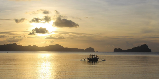 A bangka in the waters off Palawan, Philippines. Photo / Mauricio Olmedo-Perez