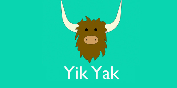 Yik Yak launched in 2013.