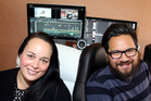Whanganui's Vicki Makutu and Ash Patea have spent the best part of a year working on TV show Hahana which showcases youth from the lower North Island. Photo/ Stuart Munro