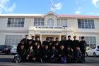 EXPERIENCE: Students from Shiba Boys' High School in Tokyo, Japan visited Rotorua Boys' High School. PHOTO/SUPPLIED
