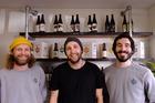 ParrotDog founders (from left) Matt Kristofski, Matt Stevens and Matt Warner.