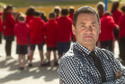 WORRY: Poverty is an issue when it comes to student attendance, Western Heights Primary School principal Brent Griffin says. PHOTO/BEN FRASER