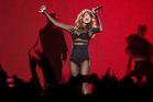 Former Disney stars Selena Gomez performed at Vector Arena in Auckland last night. Photo / AP Photo / Steven McNicholl