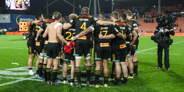 An investigation was underway after allegations of sexual assault by the Chiefs. Photo / Bruce Lim / www.photosport.nz