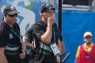 Gordon Tietjens after the defeat to Japan on the opening day of the sevens tournament. Photo / photosport.nz