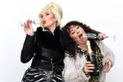 Absolutely Fabulous: Kelly O'Hara and Maree Bielesk as Patsy and Eddy. Photo/George Novak