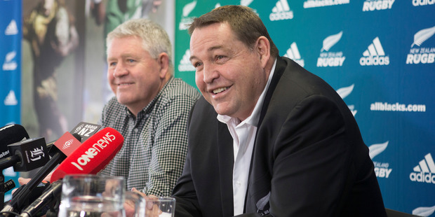 All Blacks coach Steve Hansen is wary of how much the Wallabies will change their tactics. Photo / Mark Mitchell