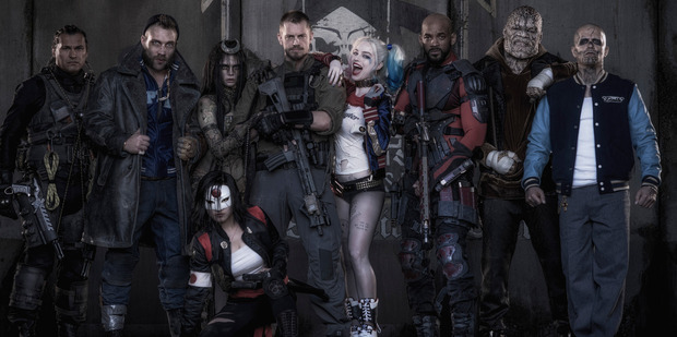 Suicide Squad earned more than $2.2 million at the New Zealand box office in its opening weekend.