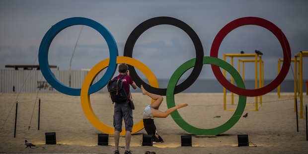 The eyes of the world have been on Rio for a week now. Photo / Bloomberg