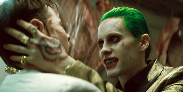 Jared Leto as The Joker in a scene from Suicide Squad. Photo / AP