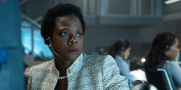 "Viola Davis, as Amanda Waller in Suicide Squad, says fighting evil with evil is the ""only way"". But there's never an ""only"" way. Photo / AP"