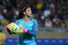 United States goalkeeper Hope Solo. Photo / AP.