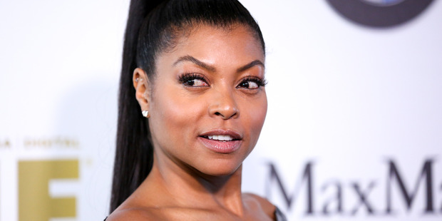 Taraji P. Henson arrives at the Women In Film 2016 Crystal And Lucy Awards in Beverly Hills. Photo / AP