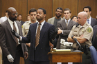 Cuba Gooding, Jr. portrays O.J. Simpson in a scene from The People v O.J. Simpson: American Crime Story.