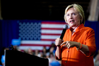 Twelve days after the Democratic Convention, Hillary Clinton is in a better position than she was last weekend. Photo / AP