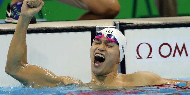 Loading Aussies have mocked Sun Yang's teeth after the Chinese swimmer won today's men's 200m freestyle. Photo / AP
