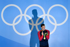 Michael Phelps stands alone in Olympic history. Photo / AP