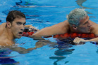 Michael Phelps and Ryan Lochte: separated at birth? Photo / AP