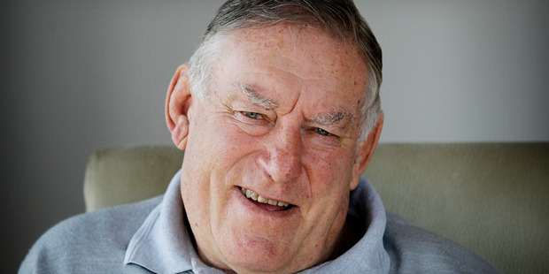 Loading Sir Colin Meads pictured at his Te Kuiti home on his 77th birthday in 2013. Photo / Christine Cornege