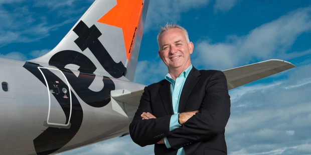 Jetstar New Zealand boss Grant Kerr. Photo / File