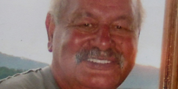 George Taiaroa was shot while he operated a stop-go at roadworks. Photo / Supplied