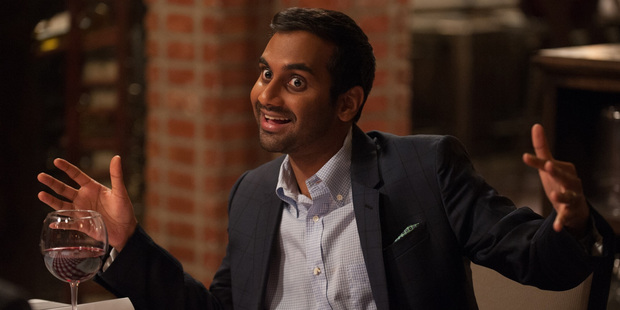 """Aziz Ansari accidentally took over Planet Earth thanks to a technological """"glitch"""". Photo / NBC"""