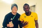 SBW SHOW: Sonny Bill Williams with Usain Bolt at the Rio Olympics via social media.