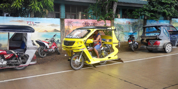 A trike on Palawan, Philippines. Photo / Mauricio Olmedo-Perez